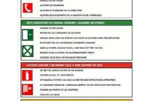 Consignes d'incendie (2)